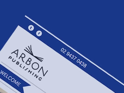 Arbon Publishing Ecommerce Web Design