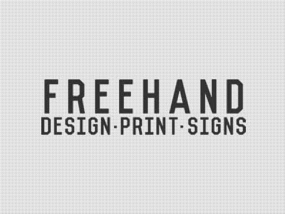 Website: Freehand Design and Print